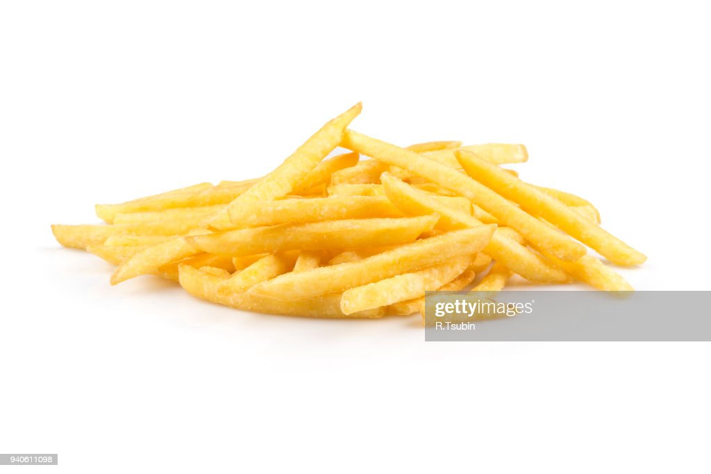 heap of french fries : Stock Photo