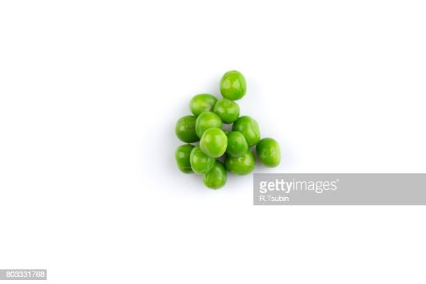 Heap of green wet pea