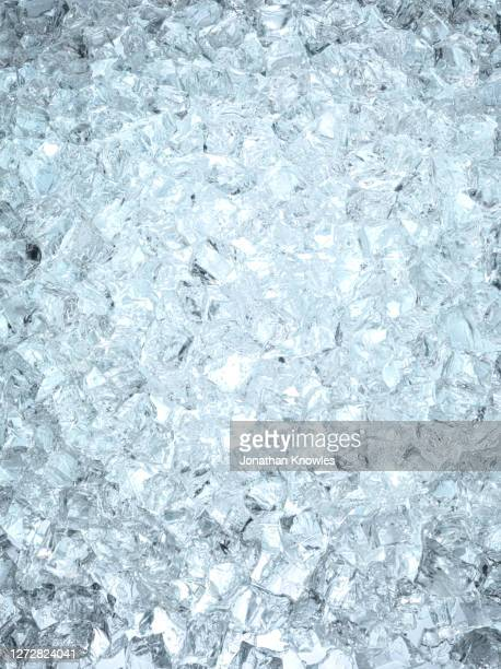 heap of ice cubes - ice cube stock pictures, royalty-free photos & images