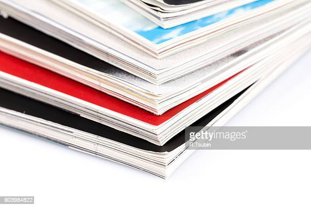 heap of magazines - publication stock pictures, royalty-free photos & images