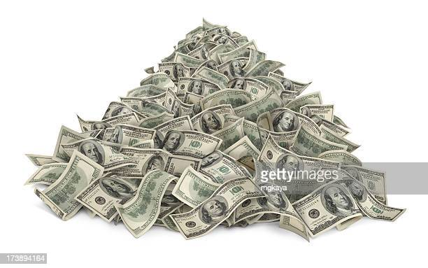 heap of money - stack stock photos and pictures