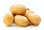 heap of raw potato