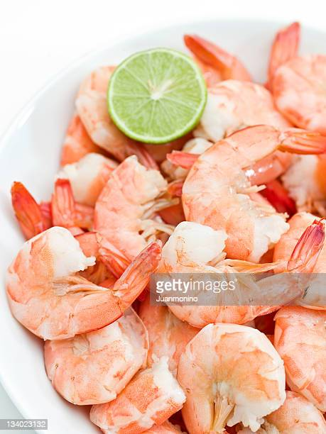 Heap of shrimps