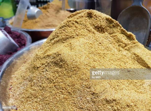 Heap of spices , cumin