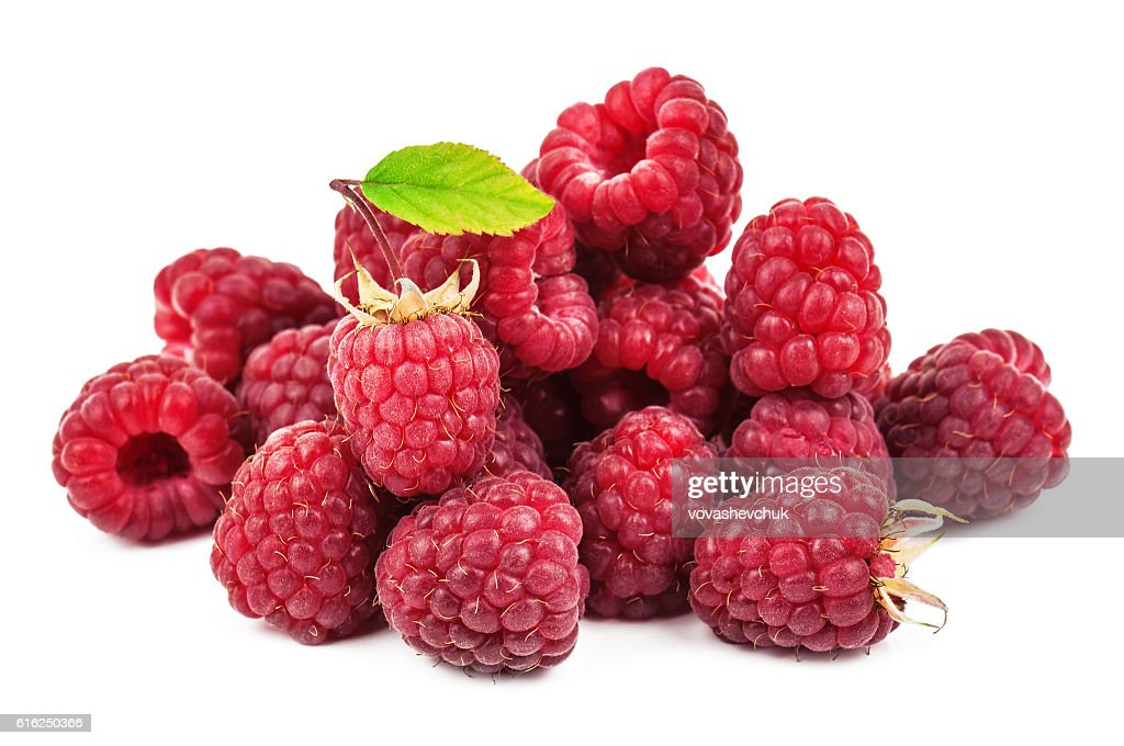 heap of sweet raspberry : Stock Photo