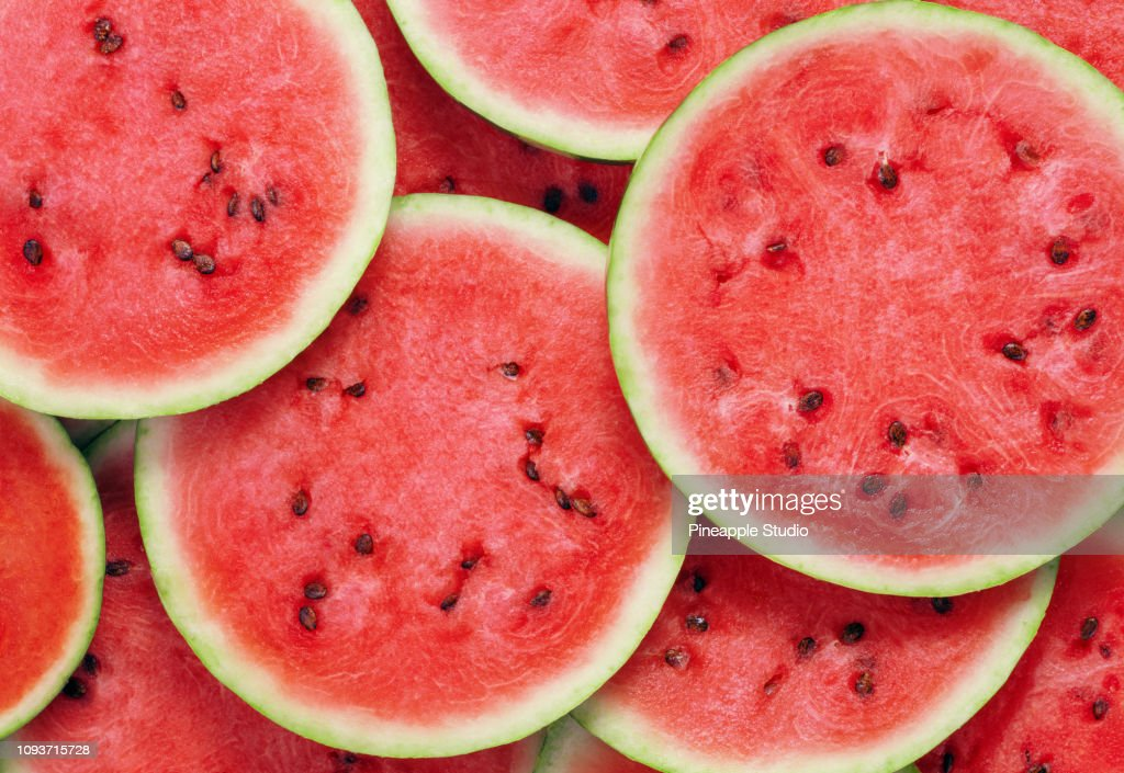 heap of watermelon slices : Stock Photo