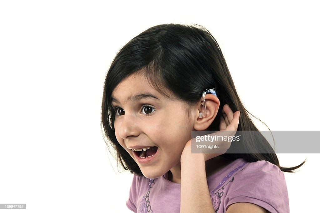 Hearing aid : Stock Photo