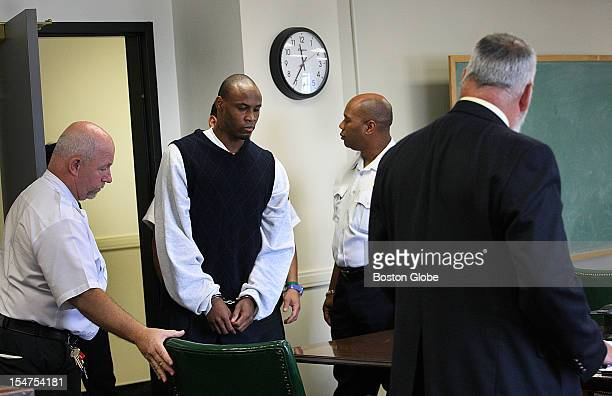 Hearing was held at Suffolk Court on whether to allow Marcus Hurd the sole survivor of the Mattapan massacre to testify during the retrial of Dwayne...