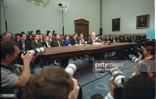 HEARINGIndependent Counsel Kenneth Starr testifies before House Judiciary Committee regarding articles of impeachment against President Bill Clinton