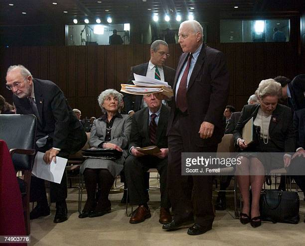 HEARINGSJudges rising to testify at the Senate Judiciary hearing on behalf of Judge Samual A Alito Jr to be an associate justice of the US Supreme...
