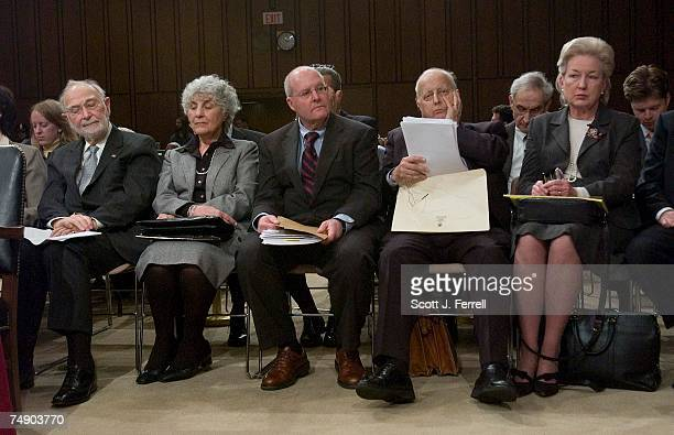 HEARINGSJudges waiting to testify at the Senate Judiciary hearing on behalf of Judge Samual A Alito Jr to be an associate justice of the US Supreme...