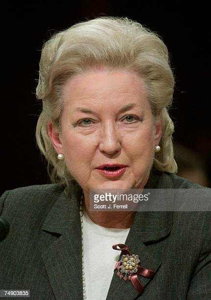 HEARINGSTestifying at the Senate Judiciary hearing on behalf of Judge Samual A Alito Jr to be an associate justice of the US Supreme Court US Court...
