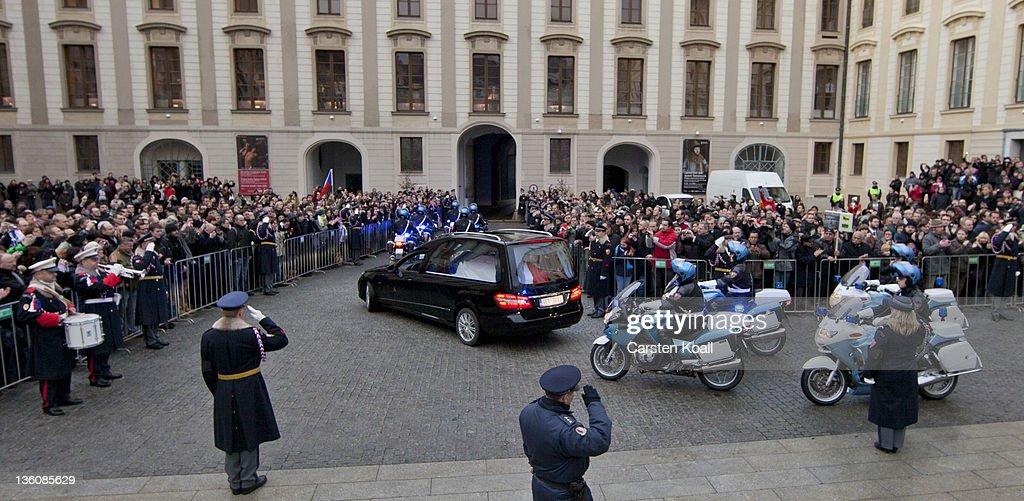 State Funeral Of Vaclav Havel : News Photo