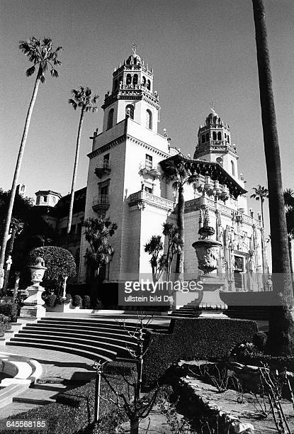 Hearst Castle located on the Central Coast of California built for newspaper magnate William Randolph Hearst Casa Grande