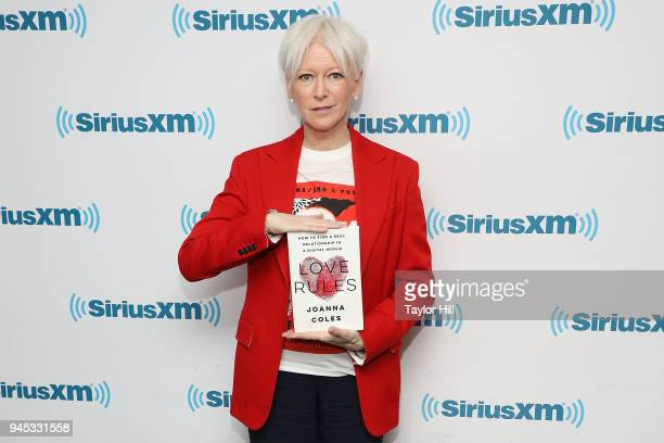 Hearst Chief Content Officer Joanna Coles promotes her book 'Love Rules' at SiriusXM Studios on April 12 2018 in New York City