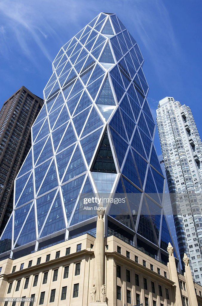 Hearst tower, low angle view : Foto stock