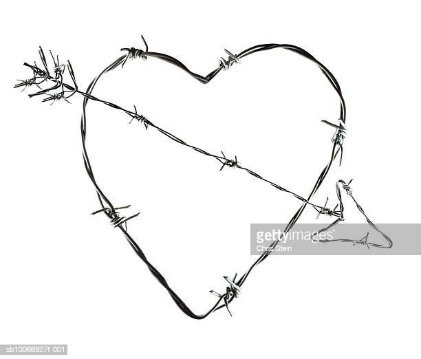 Barbed Wire Heart Stock Photos and Pictures | Getty Images