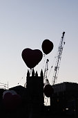 auckland new zealand heart balloons are