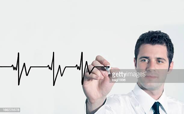心拍グラフ