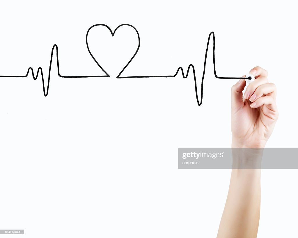 Heart Beat : Stock Photo