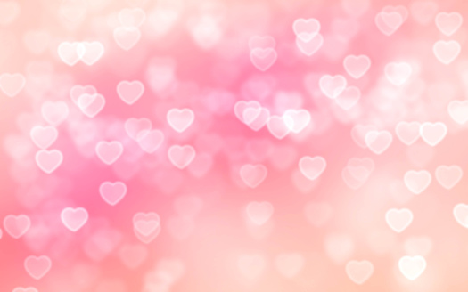 Heart bokeh background 508495114