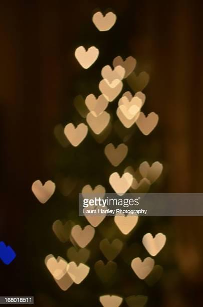 I Heart Christmas Bokeh