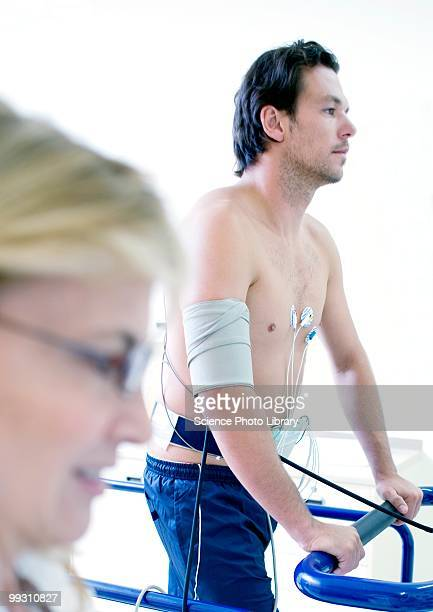 heart fitness test - stress test stock pictures, royalty-free photos & images
