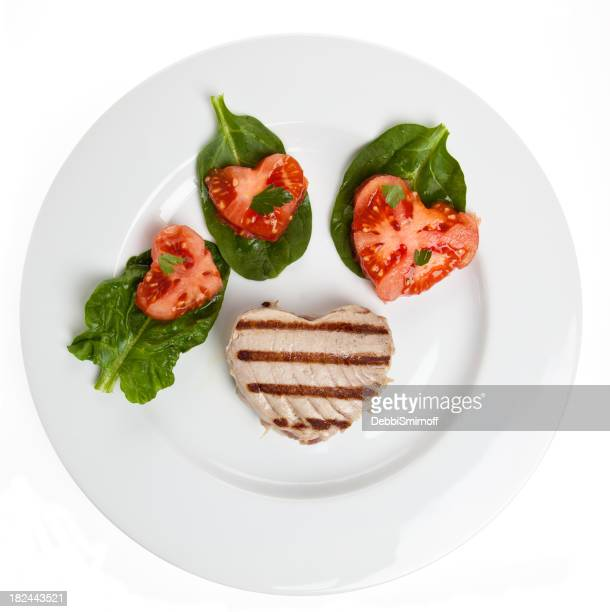 Heart Healthy Tuna Plate