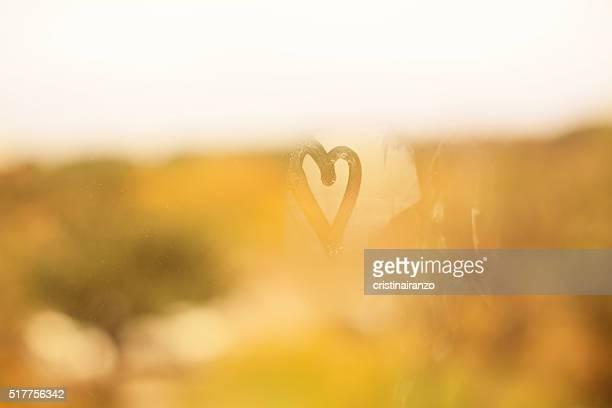 Heart in the window