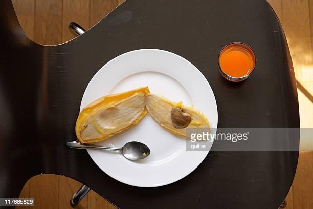 Heart inside mango