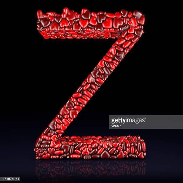 Cœur Lettre Z