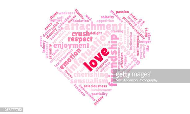 Heart Love Word Cloud