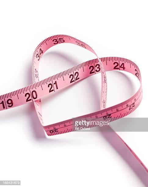 Heart measuring tape