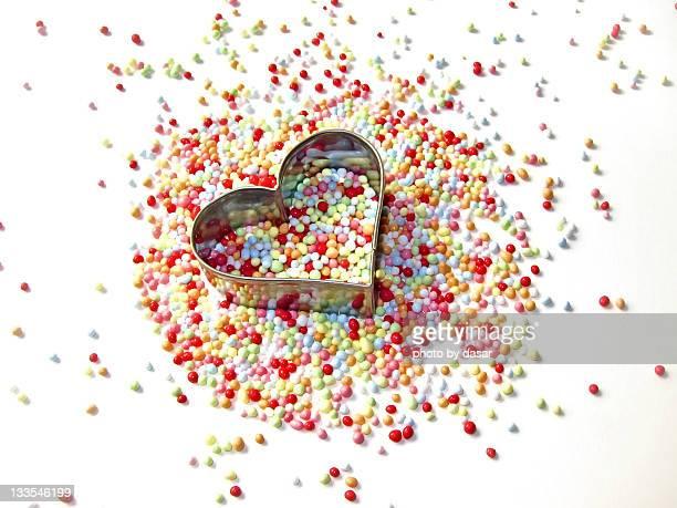 heart 'n' cake