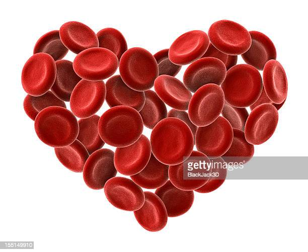 Cuore di cellule del sangue