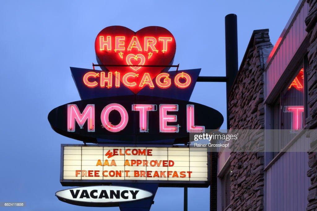 Heart of Chicago Motel (1959) : Stockfoto
