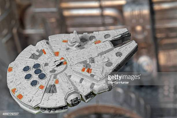 heart of the second death star - millennium falcon stock pictures, royalty-free photos & images