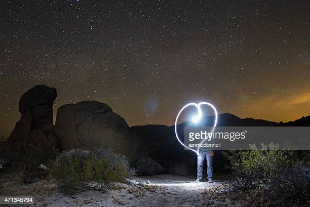 heart - anza borrego desert state park stock pictures, royalty-free photos & images