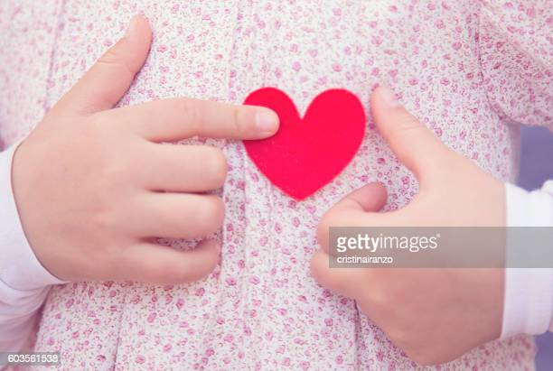 heart - lust girl stock photos and pictures