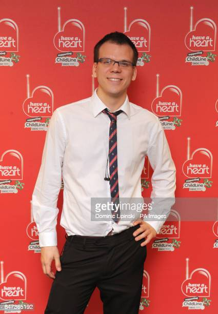 Heart Presenter Matt Wilkinson at the Heart radio 'Have a Heart' appeal at Global Radio in Leicester Square central London PRESS ASSOCIATION Photo...
