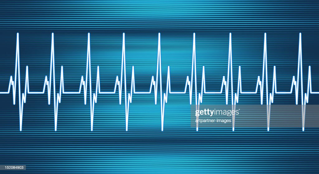 Heart Rate Line : Stock Photo