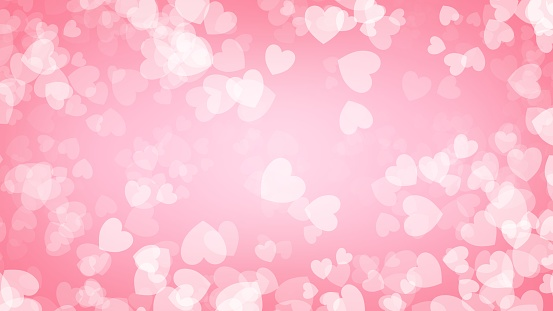 Heart red background illustration , Valentine's Day 1097310016