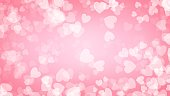 Heart red background illustration , Valentine's Day