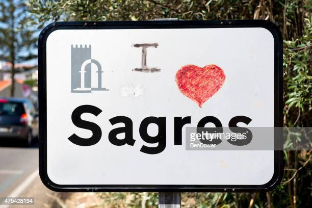 i heart sagres - sagres stock pictures, royalty-free photos & images