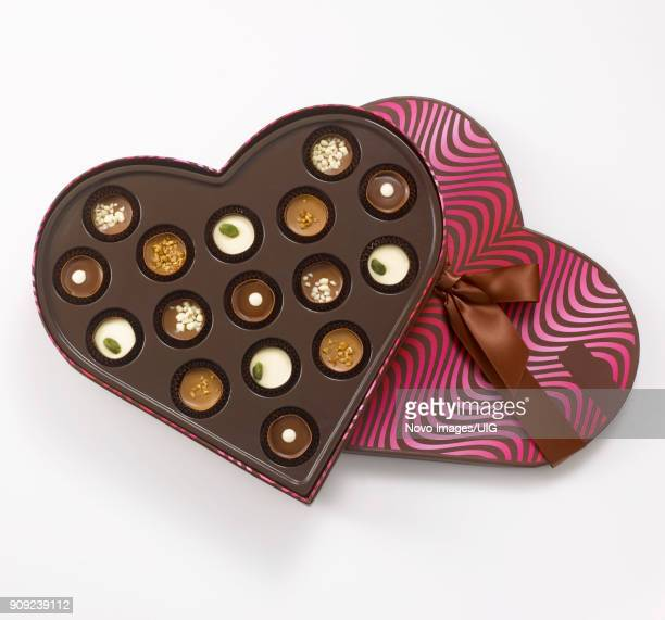 Heart Shape Box of Chocolates