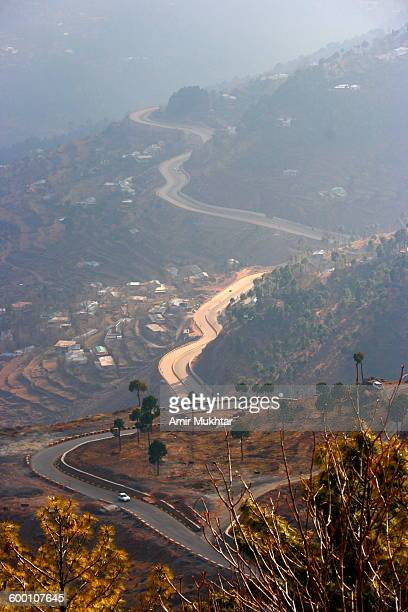 Heart Shape Highway or Road to Murree (Hilly Area)