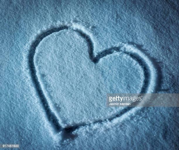 Heart shape of love