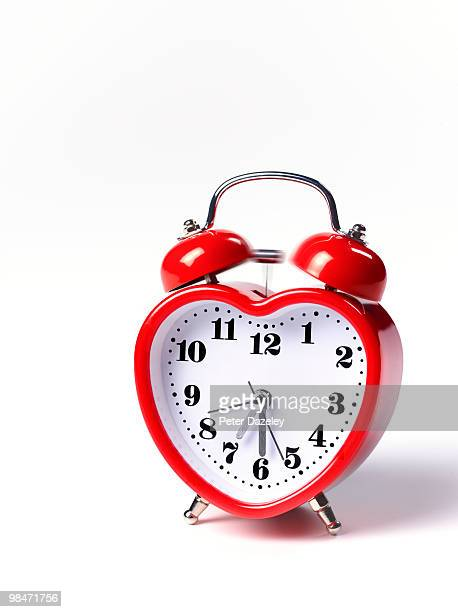 Heart shaped alarm clock