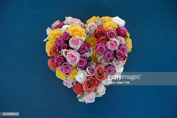 Heart Shaped Bouquet of Roses