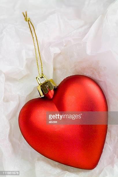 Herzförmiger WEIHNACHTSKUGEL